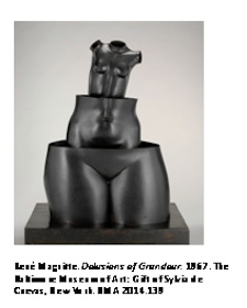 BMA ACQUIRES RARE SCULPTURE BY RENE MAGRITTE