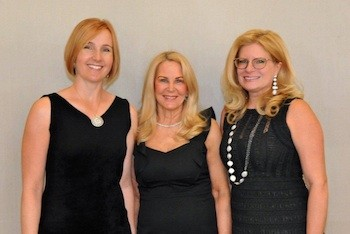 Journal Co-Chair Rebecca Creavin, Museum Board President and Ball Chairman, Angela Susan Anton, Journal Co-Chair M. Patricia Janco-Tupper