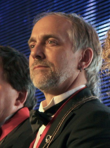 """Richard Garriott de Cayeux at the Museum's """"Wings of Heroes"""" Gala 2012. Credit: Ted Huetter/The Museum of Flight, Seattle"""