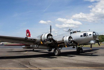 B-17 Aluminum Overcast at The Museum of Flight.