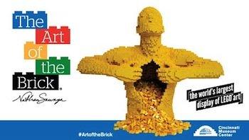 World's Largest Display of LEGO® Art Coming to Cincinnati Museum Center