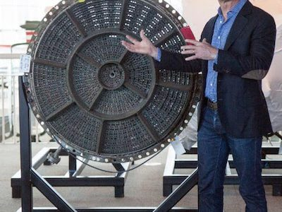 Museum of Flight Reveals Historic Rocket Engines from  Apollo 12 and Apollo 16