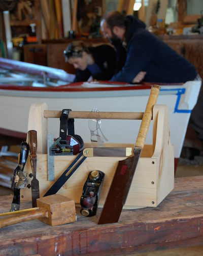 Woodworking and boatbuilding tools
