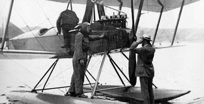 A floatplane version of the Boeing Model C designed by Wong Tsoo in 1916