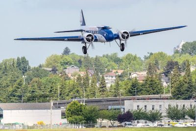 Museum of Flight 1933 Boeing 247D Airliner Makes Final Flight