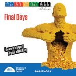 Final chance to see The Art of the Brick at Cincinnati Museum Center