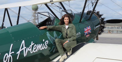 Tracey Curtis-Taylor 942 Boeing Stearman Spirit of Artemis