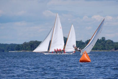 Winnie Estelle will take passengers out to watch the Chesapeake's iconic sailing log canoe races along the Miles River
