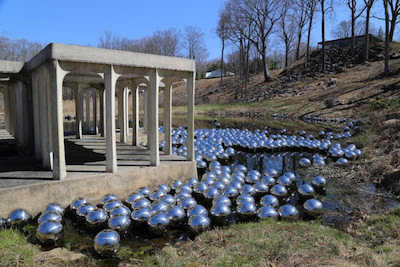 Yayoi Kusama: Narcissus Garden at the Glass House