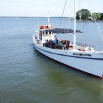 Miles River ecology cruise aboard Winnie Estelle at the Chesapeake Bay Maritime Museum