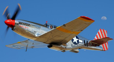 Collings' two-seat TP-51C is only one a few Mustangs with flight controls for the passenger