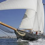 Schooner America at the Chesapeake Bay Maritime Museum in St. Michaels