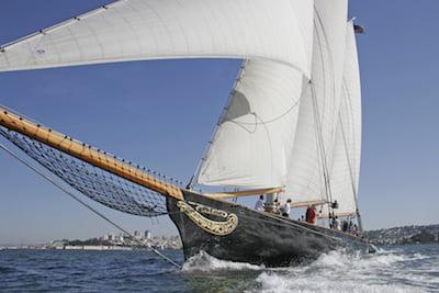 America's Cup replica schooner America