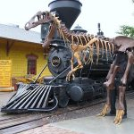 Colorado Railroad Museum Dinosaur Express Train