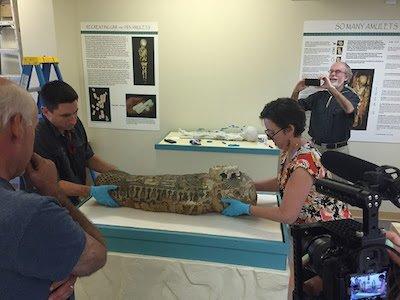 Cincinnati Museum Center mummy enrolls at Mount St. Joseph University