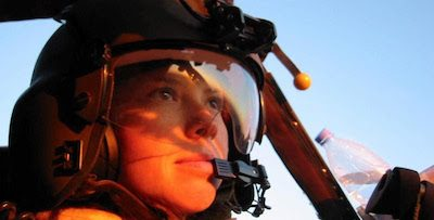 U.S. Army helicopter pilot Amber Smith