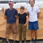 Chesapeake Bay Maritime Museum welcomes new shipwright and apprentices for Edna Lockwood restoration