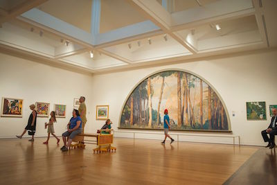 At the Michener Art Museum, Google Captures Largest Gigapixel Painting to Date with Google Art Camera