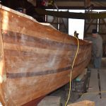 Draketail construction continues at Chesapeake Bay Maritime Museum