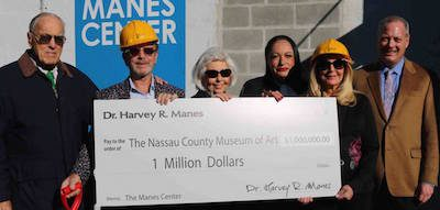 Museum Trustees Clarence F. Michalis, Dr. Harvey Manes, Sharon Cuchel, Deborah A. Cannon; Museum President Angela Susan Anton, Museum Director Karl E. Willers.