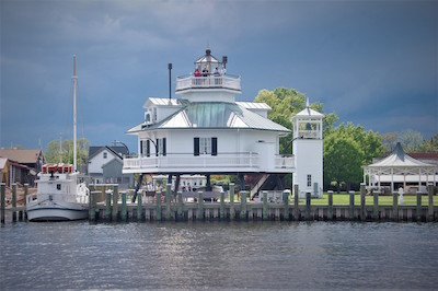Lighthouse overnights at the Chesapeake Bay Maritime in St. Michaels this spring