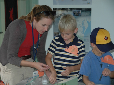 Children mix art with science at Chesapeake Bay Maritime Museum – CBMM this February