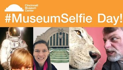 Cincinnati Museum Center and the world are asking you to raise a phone to museums