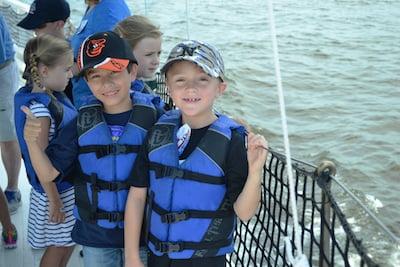 Chesapeake Bay Maritime Museum Sea Squirts Summer Camp begins June 19