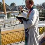 Blessing of the Fleet at the Chesapeake Bay Maritime Museum in St. Michaels, Md