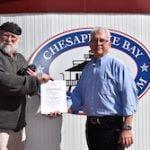 Stevensville man wins Chesapeake Bay Maritime Museum CBMM guest survey giveaway