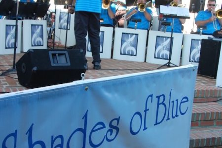 The Shades of Blue at Big Band Night July 1 at the Chesapeake Bay Maritime Museum in St. Michaels