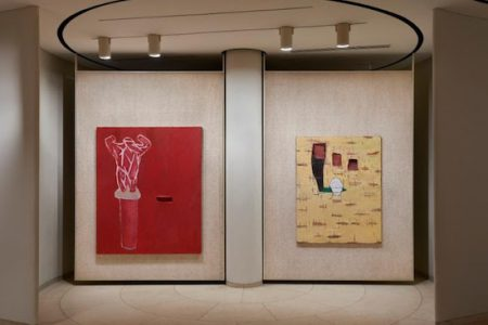 The Glass House presents Julian Schnabel: Paintings that I hope Philip and David would like
