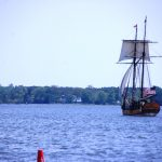 Schooner Sultana at the Chesapeake Bay Maritime Museum in St. Michaels, Md in May, June