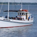 Winnie Estelle cruises return to the Chesapeake Bay Maritime Museum St. Michaels