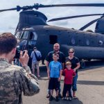 Helicopters Hover to Museum of Flight for Free Air Show
