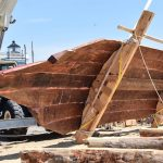Edna E. Lockwood progress continues at the Chesapeake Bay Maritime Museum