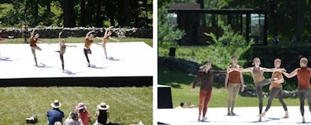 World Premiere of The Metamorphoses a choreographic installation by Jonah Bokaer Choreography at the Glass House