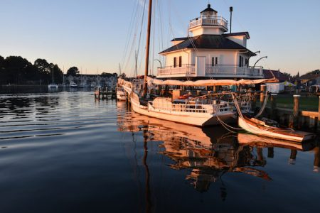 Lighthouse overnights at the Chesapeake Bay Maritime Museum in St. Michaels