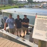 Living oyster bed created at Chesapeake Bay Maritime Museum