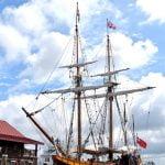 Chesapeake Bay Maritime Museum and Historic St. Mary's City celebrate partnership