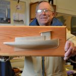 Delaware half-hull model workshop October 21, 22 at the Chesapeake Bay Maritime Museum in St. Michaels