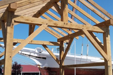 Chesapeake Bay Maritime Museum to host four-day Timber Framing Workshop