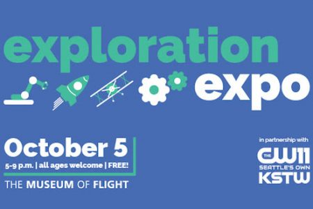"Free ""Exploration Expo"" Showcases Museum of Flight Education Programs for All Ages"