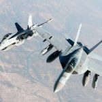 Three Navy EA-18G Growler Jets Fly To  Museum of Flight
