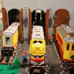 LEGO® creations join trains and Santa at holiday experience at Cincinnati Museum Center