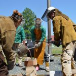Bronze casting workshop at the Chesapeake Bay Maritime Museum in St. Michaels