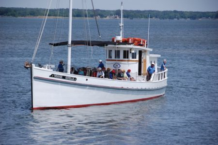 Winnie Estelle cruises begin May 18 at the Chesapeake Bay Maritime Museum in St. Michaels