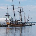 Schooner Sultana's stay at the Chesapeake Bay Maritime Museum in St. Michaels, Md