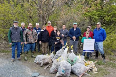 Chesapeake Bay Maritime Museum participates in Project Clean Stream