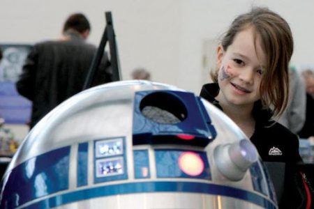 R2-D2 and Robot Friends to Meet Museum of Flight Visitors